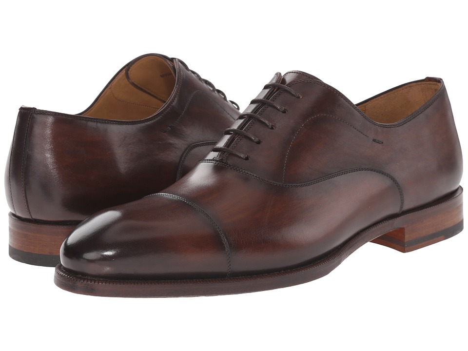 Magnanni - Raiden (Tobacco) Men's Lace Up Cap Toe Shoes