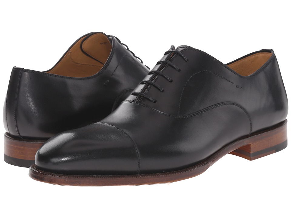 Magnanni - Raiden (Black) Men's Lace Up Cap Toe Shoes