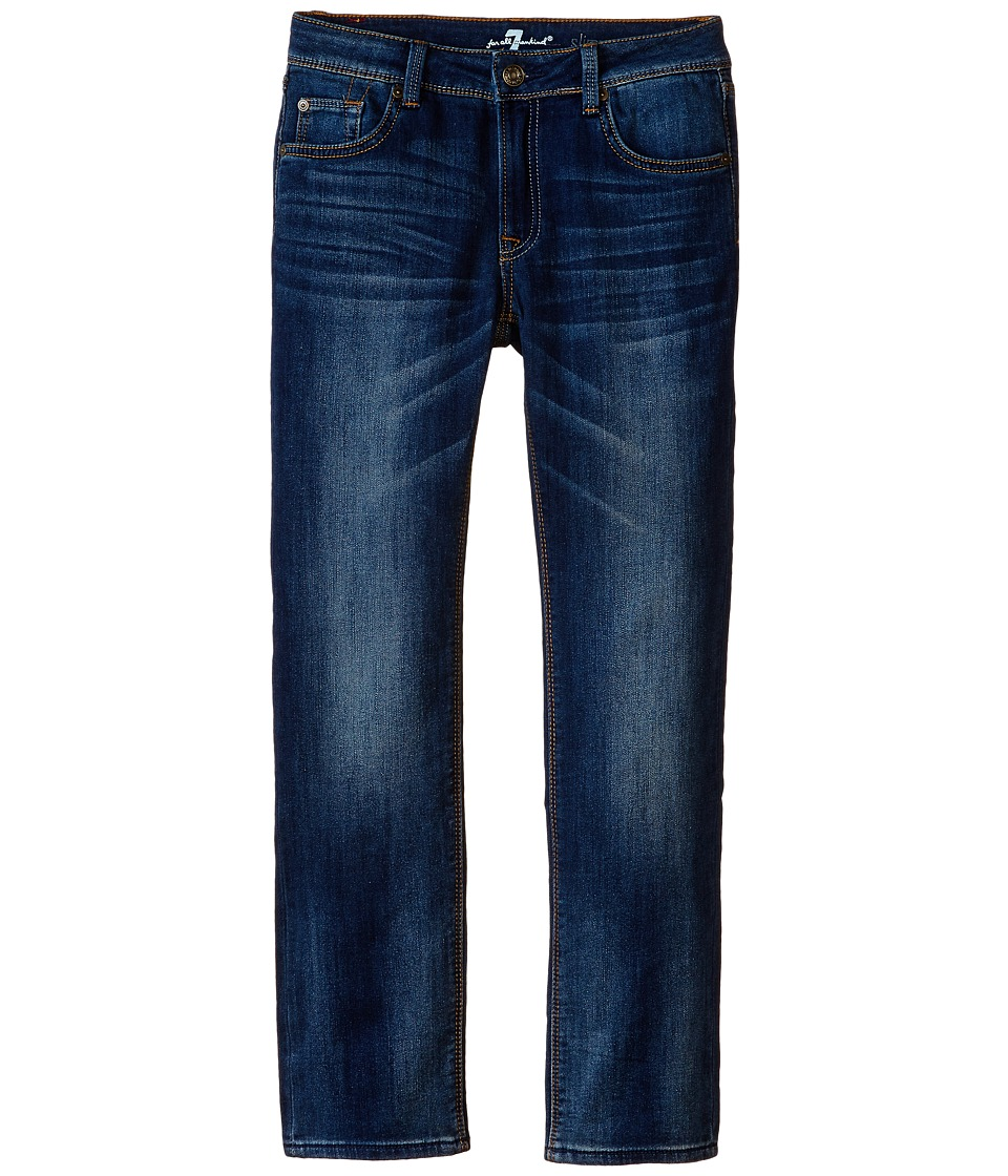 7 For All Mankind Kids - Slim Straight Jeans in Heritage Blue (Little Kids/Big Kids) (Heritage Blue) Boy's Jeans