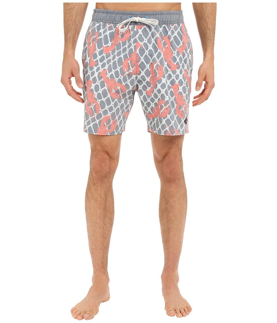 Sperry - Fresh Catch Volley Shorts (Ink Blue) Men's Swimwear