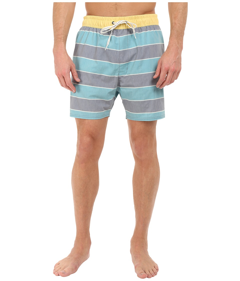 Sperry Top-Sider - Rug-By the Bay Volley Shorts (Lagoon) Men's Swimwear