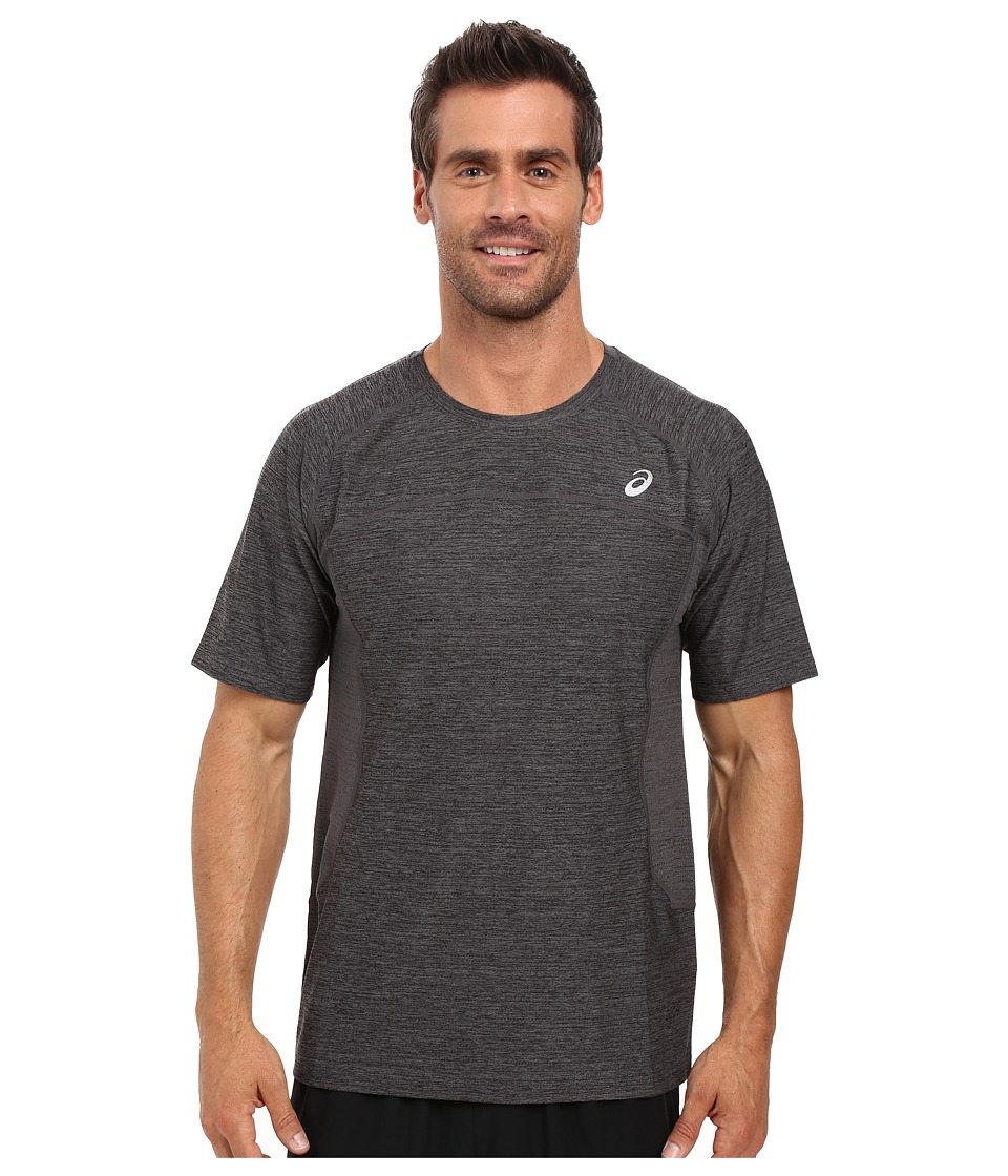 ASICS - Lite-Show Short Sleeve (Iron Gate Heather) Men's T Shirt