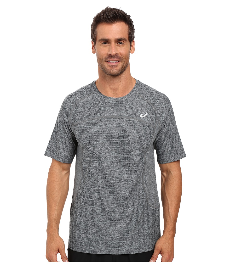 ASICS Lite-Show Short Sleeve (Arona Heather) Men