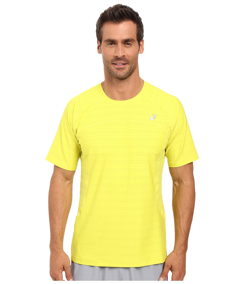 ASICS Lite-Show Short Sleeve (Sulphur Spring Heather) Men