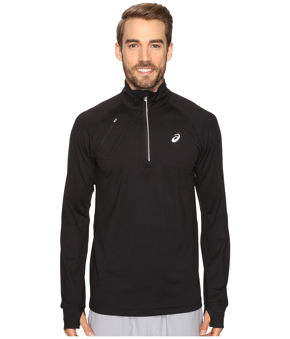ASICS - Thermopolis 1/2 Zip (Performance Black) Men's Clothing
