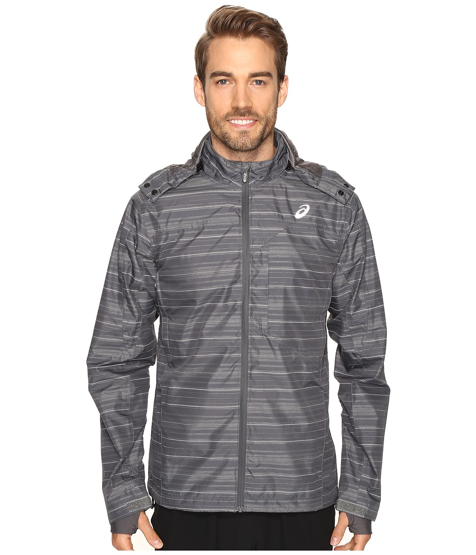 ASICS - Storm Shelter Jacket (Iron Gate) Men's Coat