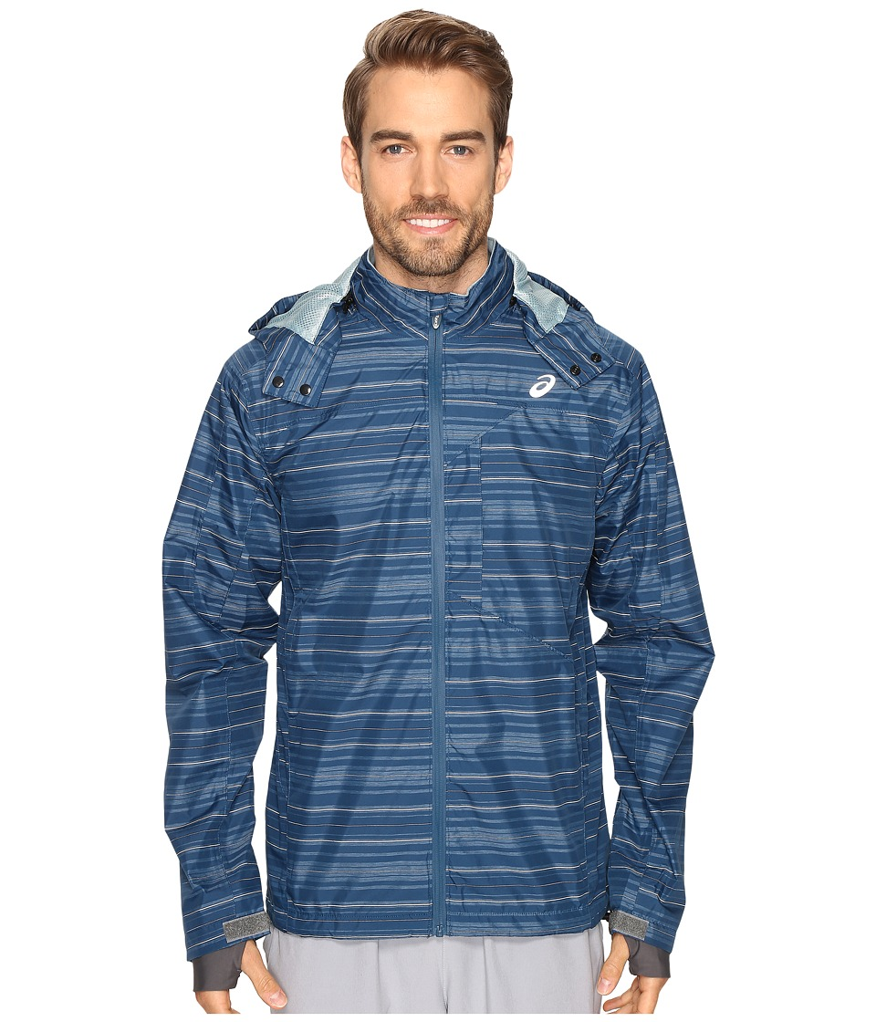 ASICS - Storm Shelter Jacket (Poseidon) Men's Coat