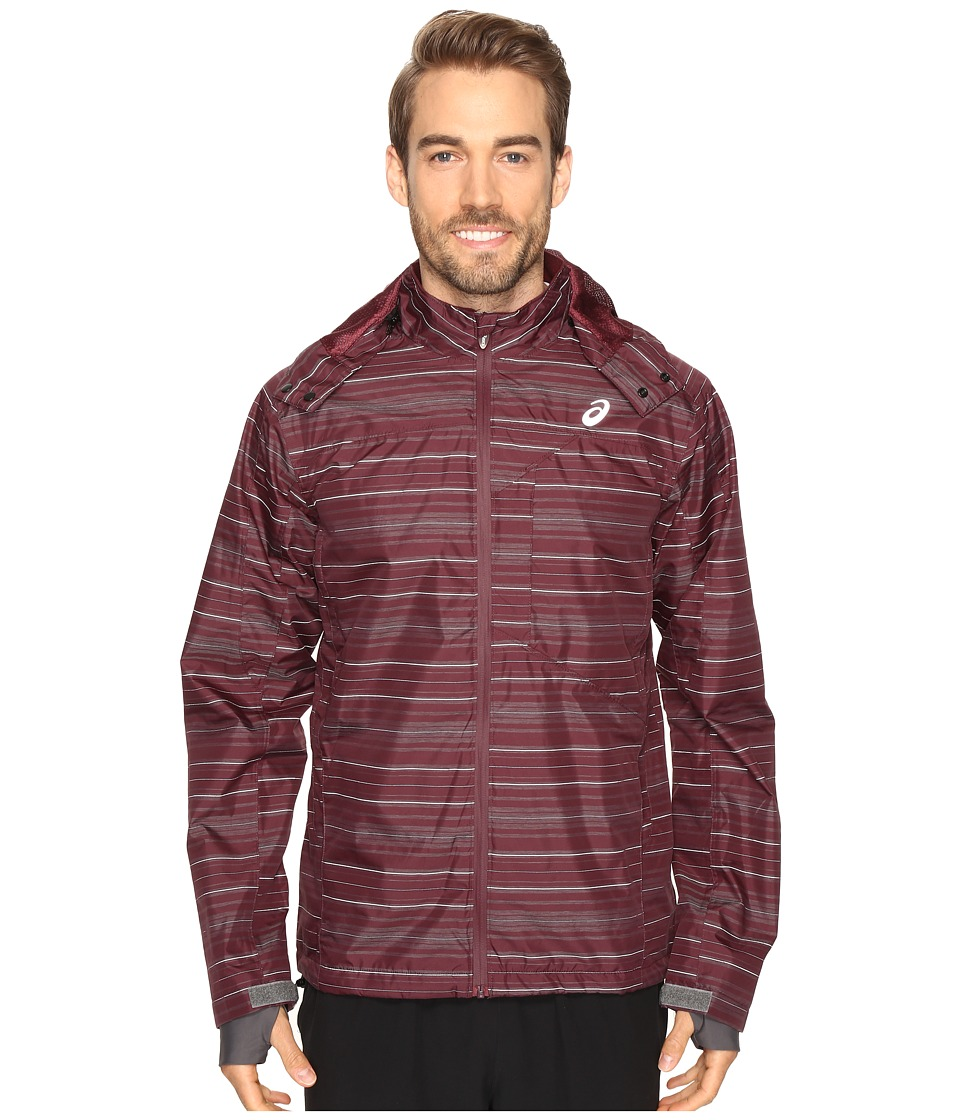 ASICS - Storm Shelter Jacket (Rioja Red) Men's Coat