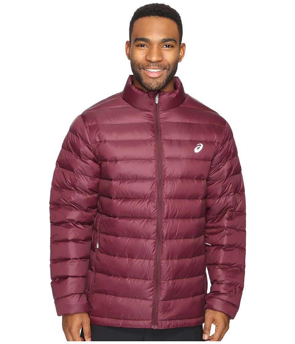 ASICS - Down Jacket (Rioja Red) Men's Coat