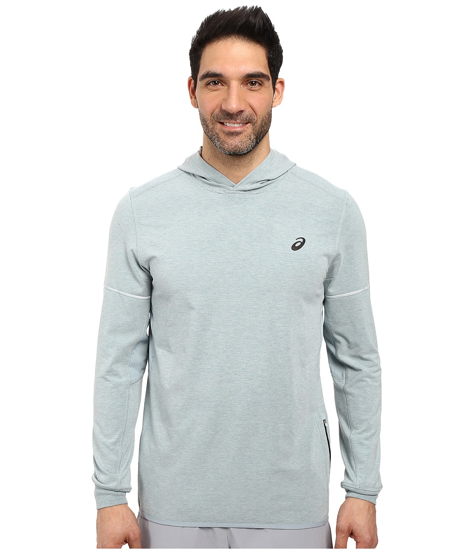 ASICS - Lightweight Fleece Hoodie (Arona Heather) Men's Sweatshirt