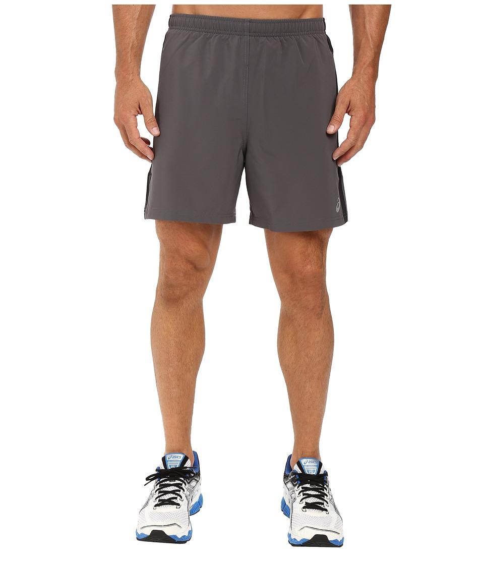 ASICS - 2-N-1 Woven 6 Shorts (Iron Gate) Men's Shorts