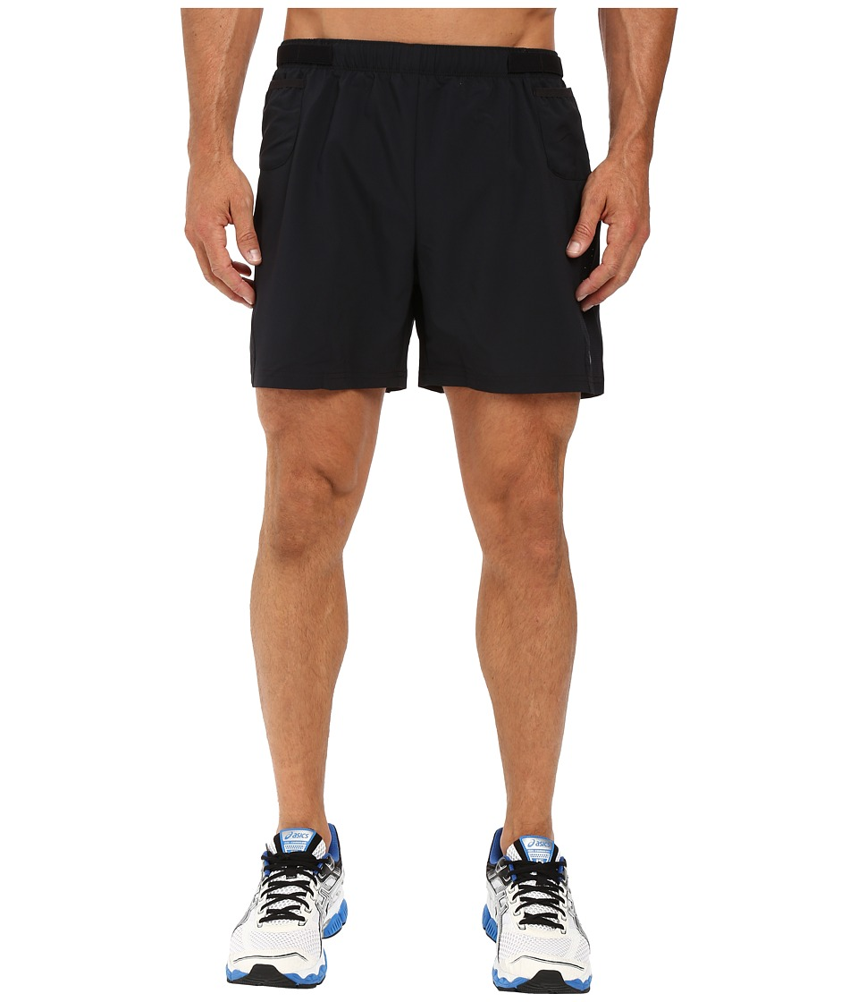 ASICS - Distance 5 Shorts (Performance Black) Men's Shorts