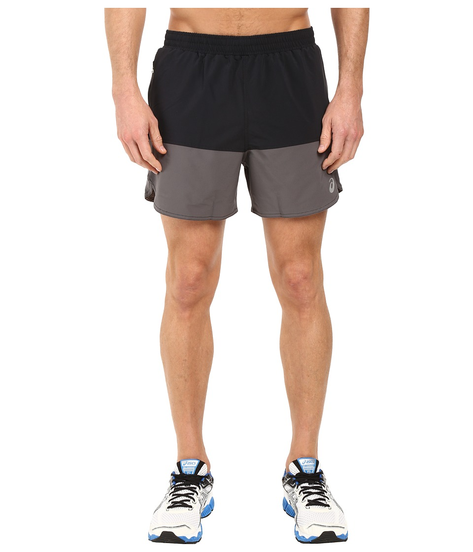 ASICS - Everyday 5 Shorts (Performance Black/Iron Gate) Men's Shorts