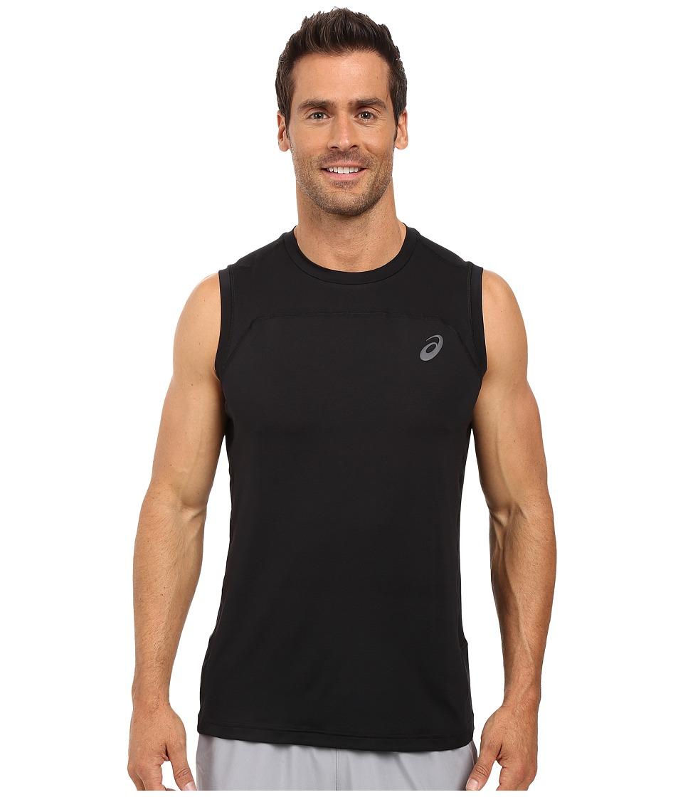 ASICS - Ministripe Sleeveless Top (Performance Black) Men's Sleeveless
