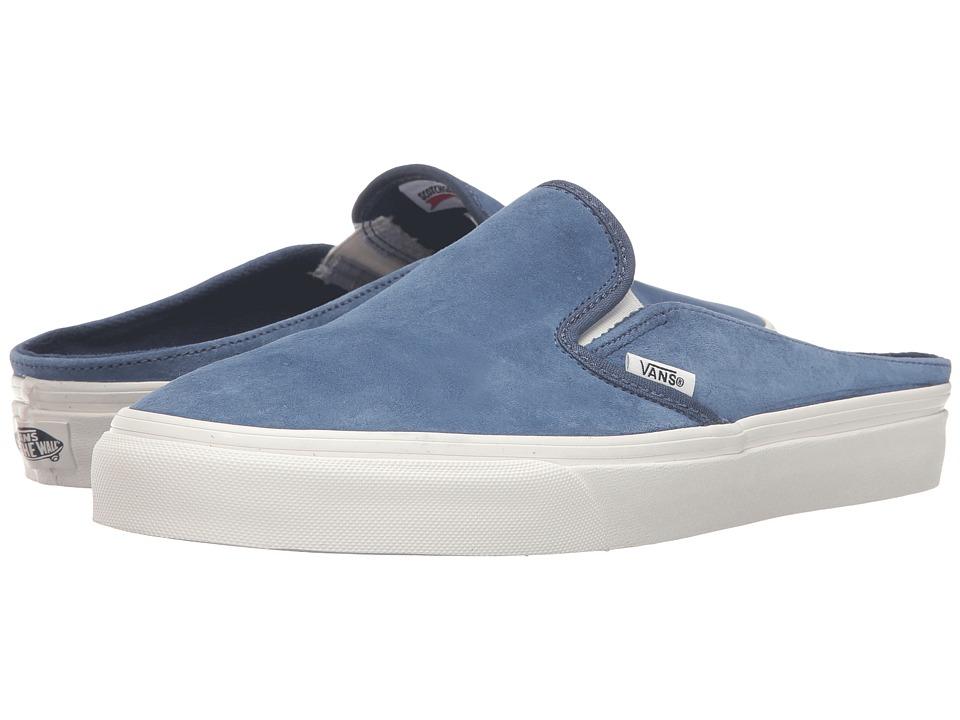 Vans - Classic Slip-On Mule ((Scotchgard) Obsidian/Blanc de Blanc) Shoes