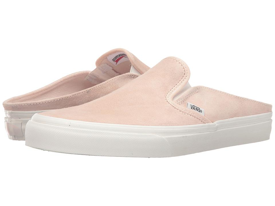 Vans - Classic Slip-On Mule ((Scotchgard) Silver Peony/Blanc de Blanc) Shoes