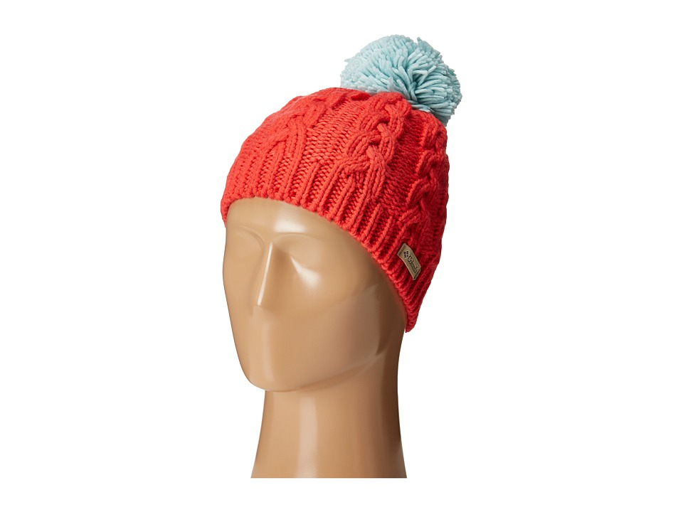 Columbia  COLUMBIA - IN-BOUNDS BEANIE (RED CAMELLIA/SPRAY) BEANIES