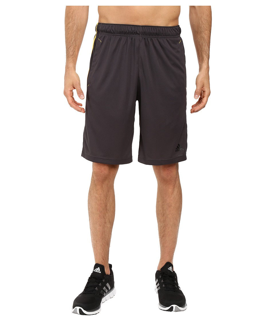 adidas - Essential 3S Shorts (Utility Black/Solar Gold) Men's Shorts