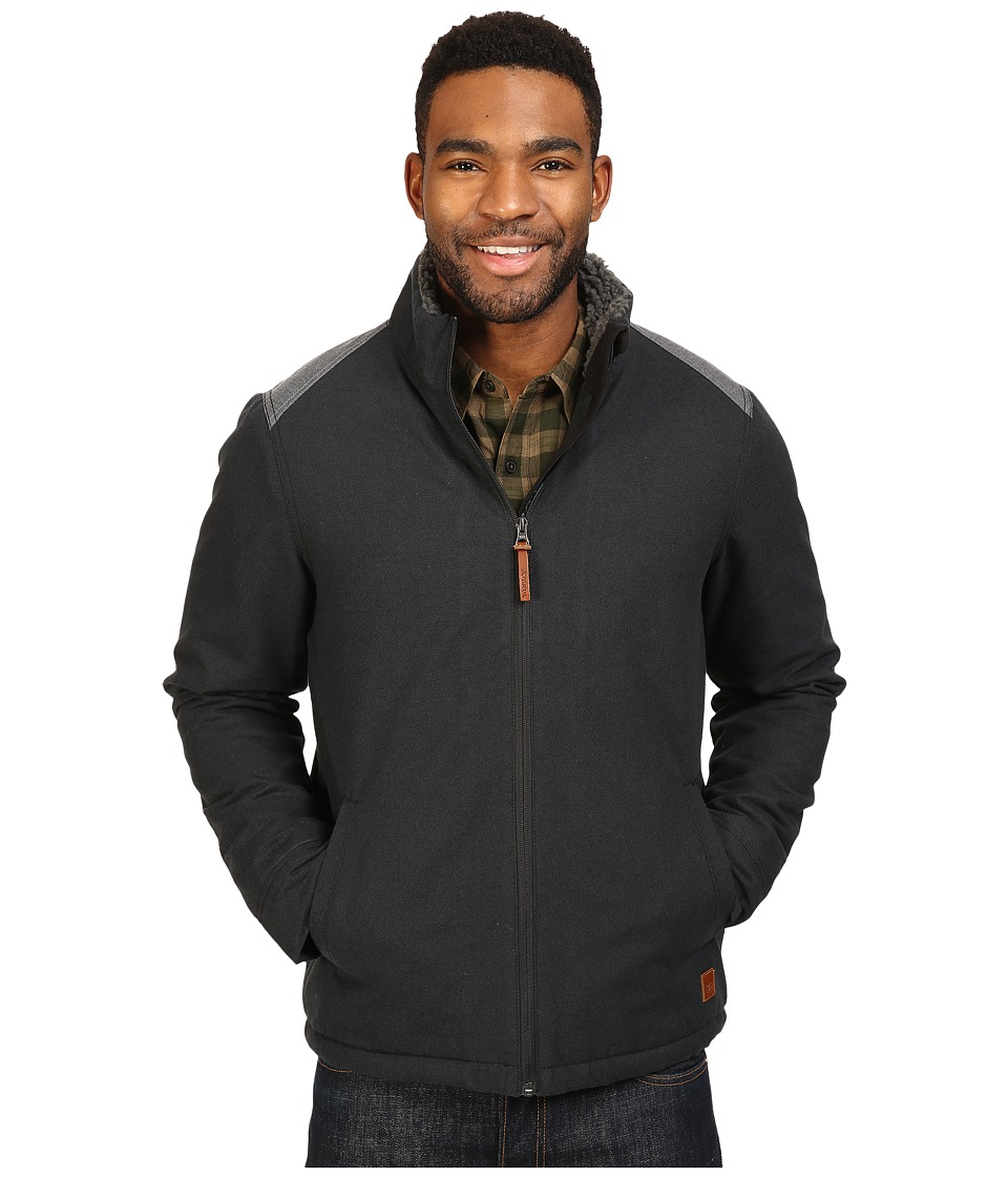 Toad&Co - Yukon Sherpa Jacket (Black Heather) Men's Coat