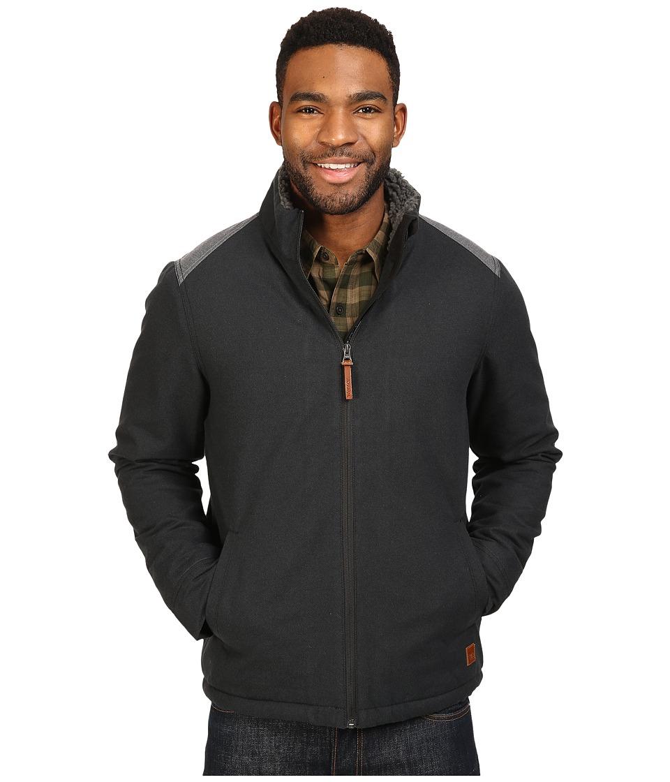 Toad&Co - Yukon Sherpa Jacket (Black Heather) Men's Coat