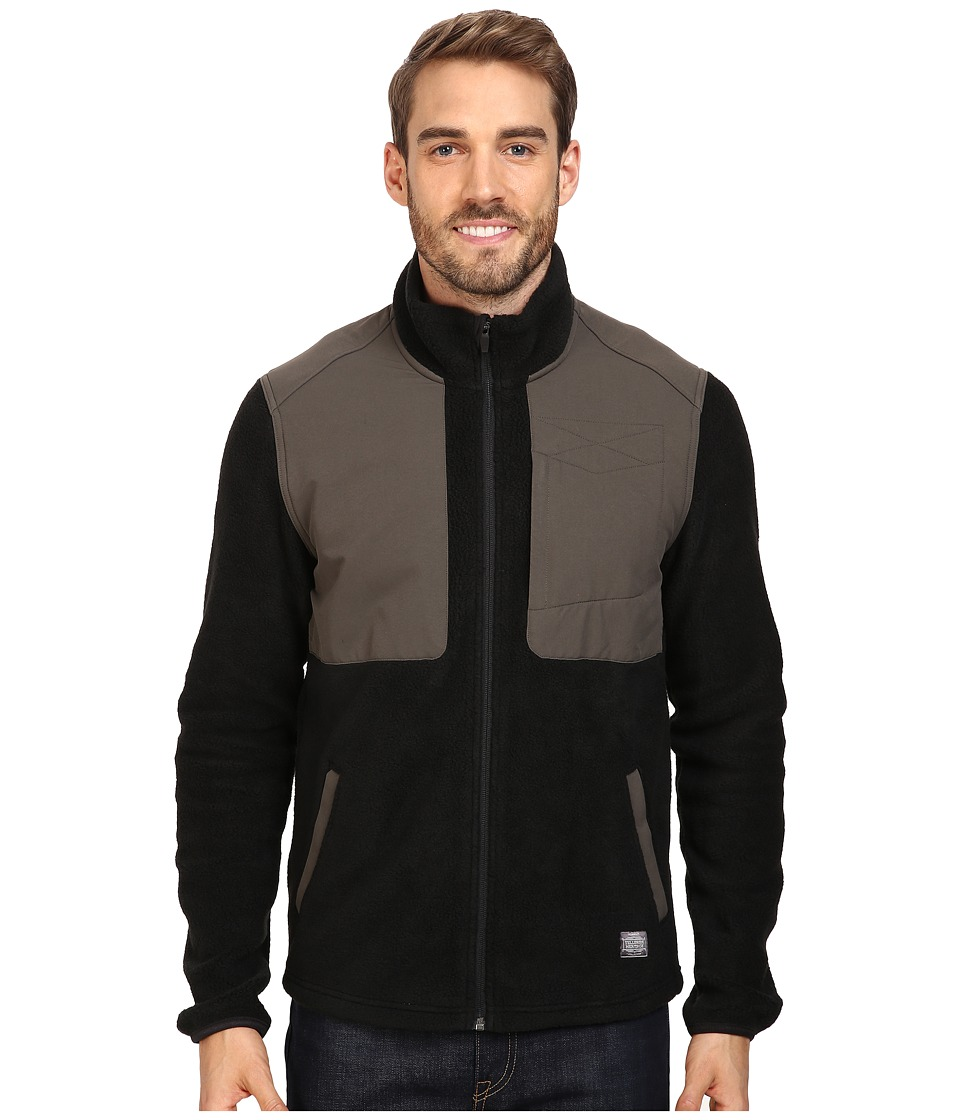 Toad&Co Ballard Fleece Jacket (Black) Men