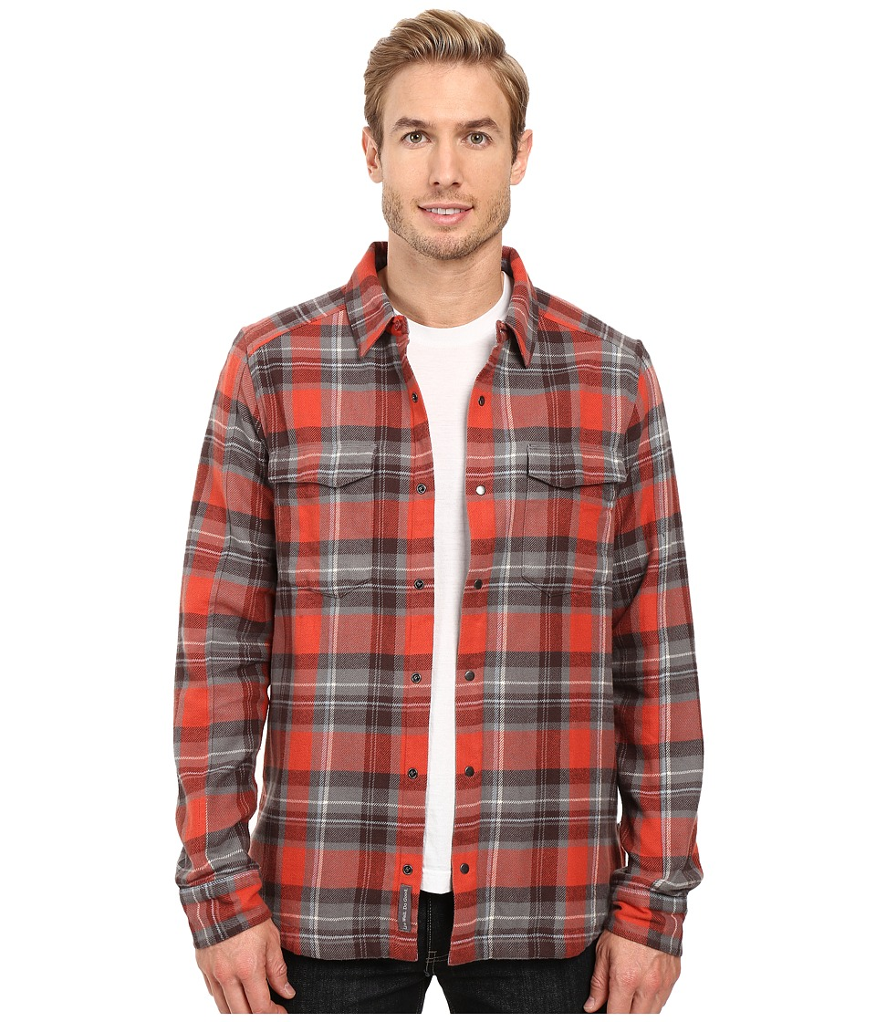 Toad&Co - Mojac Overshirt (Dark Chestnut) Men's Long Sleeve Button Up