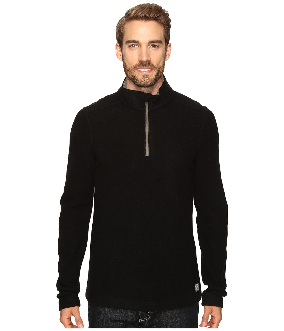 Toad&Co - Kennicott 1/4 Zip (Black) Men's Clothing