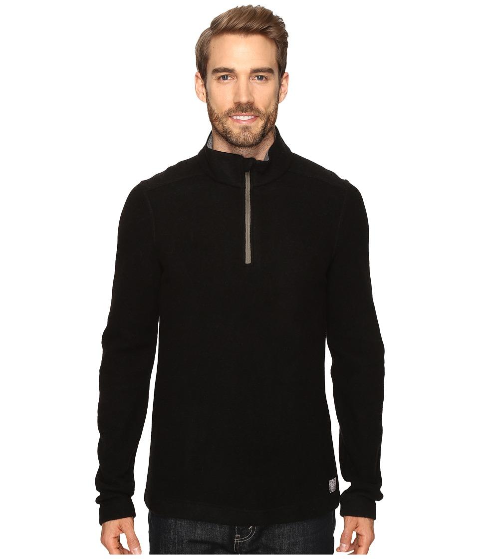 Toad&Co - Kennicott 1/4 Zip (Black) Men's Clothing