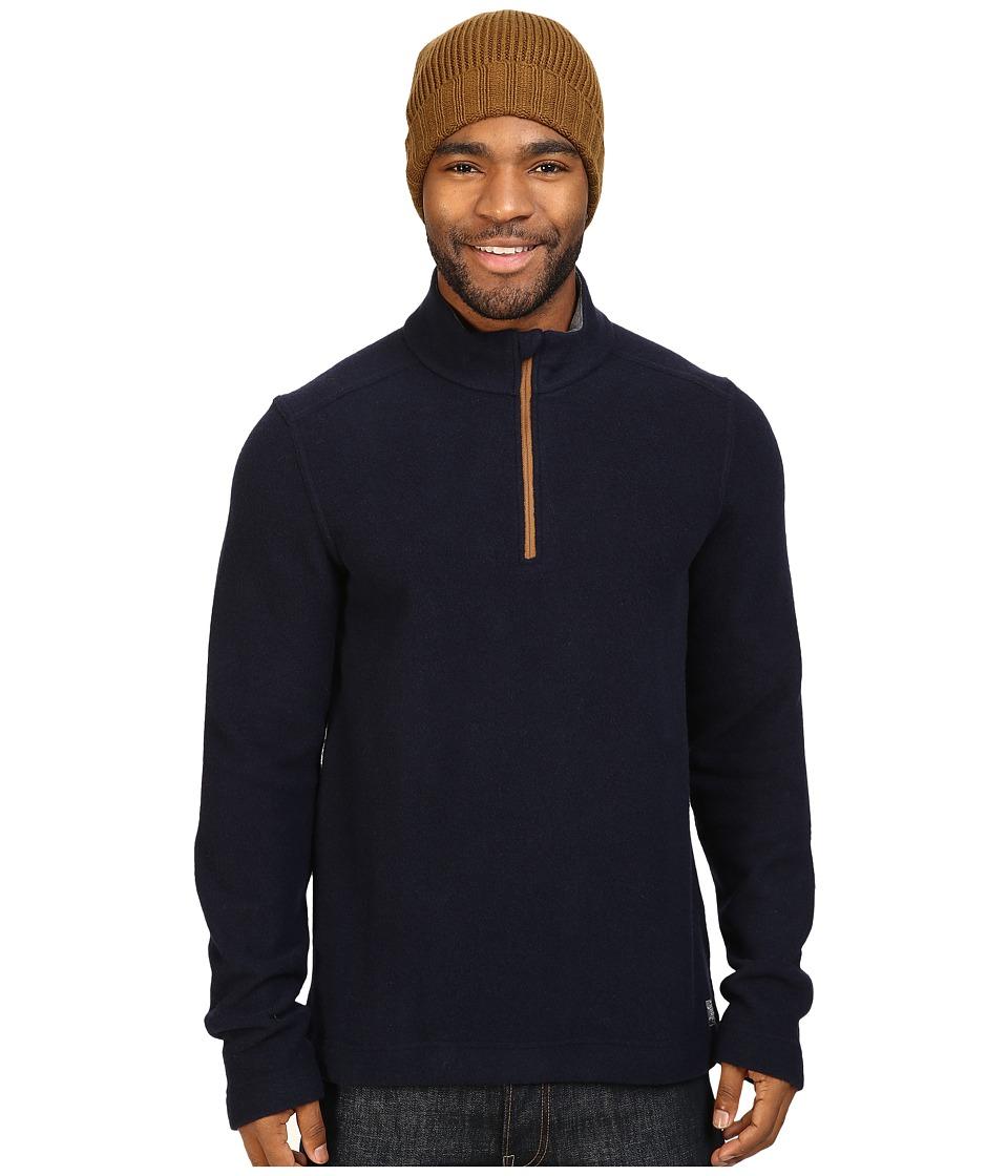 Toad&Co - Kennicott 1/4 Zip (Deep Navy) Men's Clothing