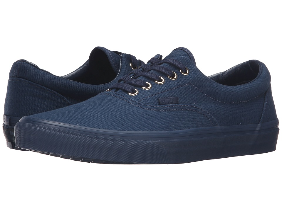 Vans - Era ((Gold Mono) Dress Blues) Skate Shoes