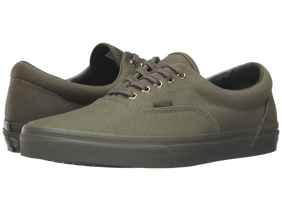Vans - Era ((Gold Mono) Ivy Green) Skate Shoes
