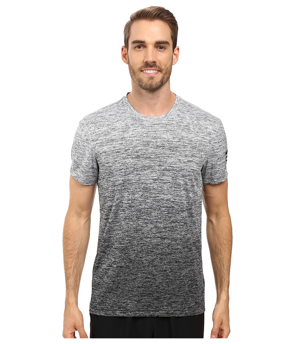 adidas - Prime Gradient Tee (MGH Solid Grey/Black) Men's T Shirt