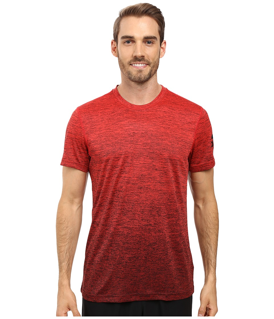 adidas - Prime Gradient Tee (Ray Red/Black) Men's T Shirt
