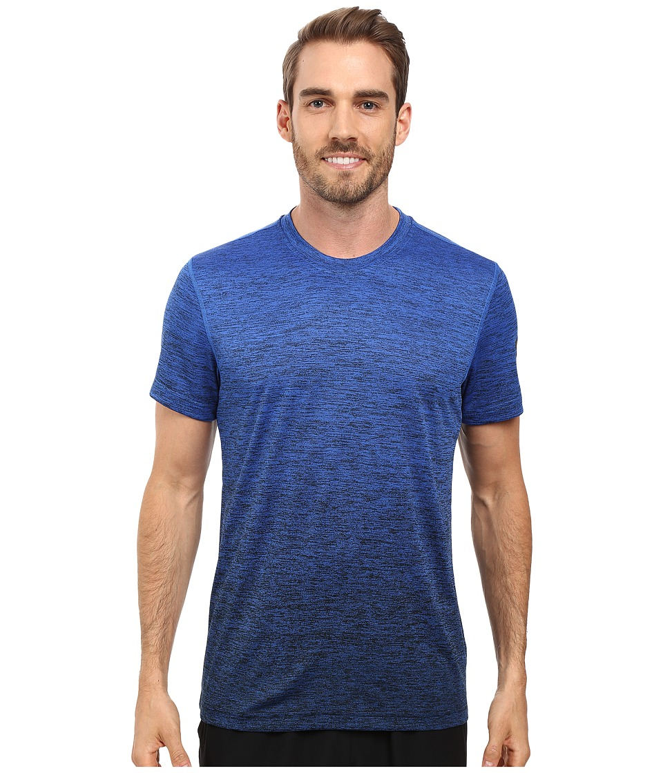 adidas - Prime Gradient Tee (Blue/Black) Men's T Shirt