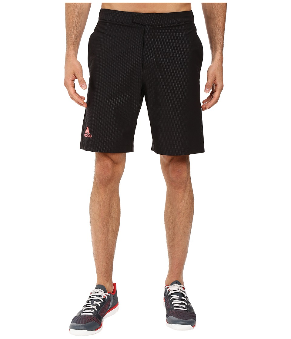 adidas - BARRICADE Bermuda (Black/Flash Red) Men's Shorts