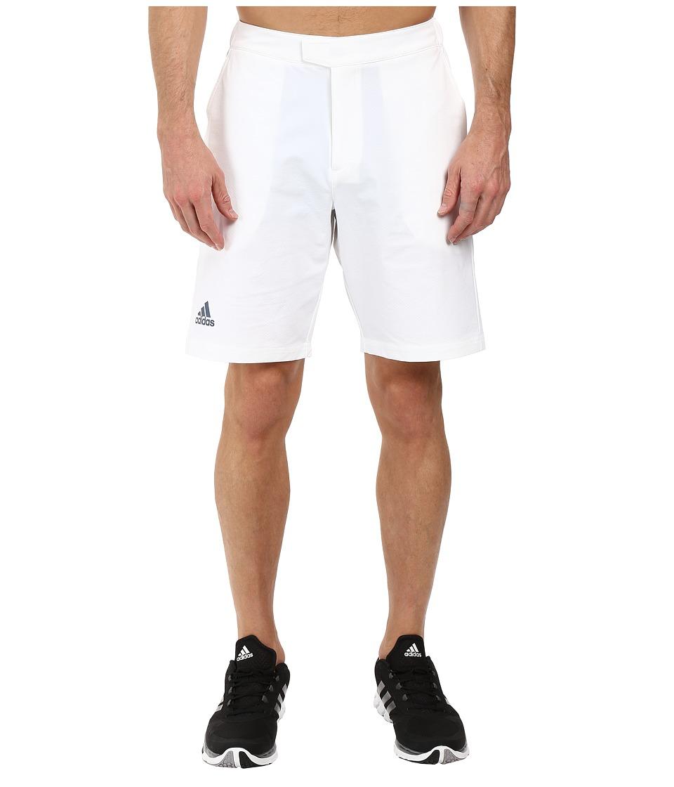 adidas - BARRICADE Bermuda (White/Tech Ink) Men's Shorts