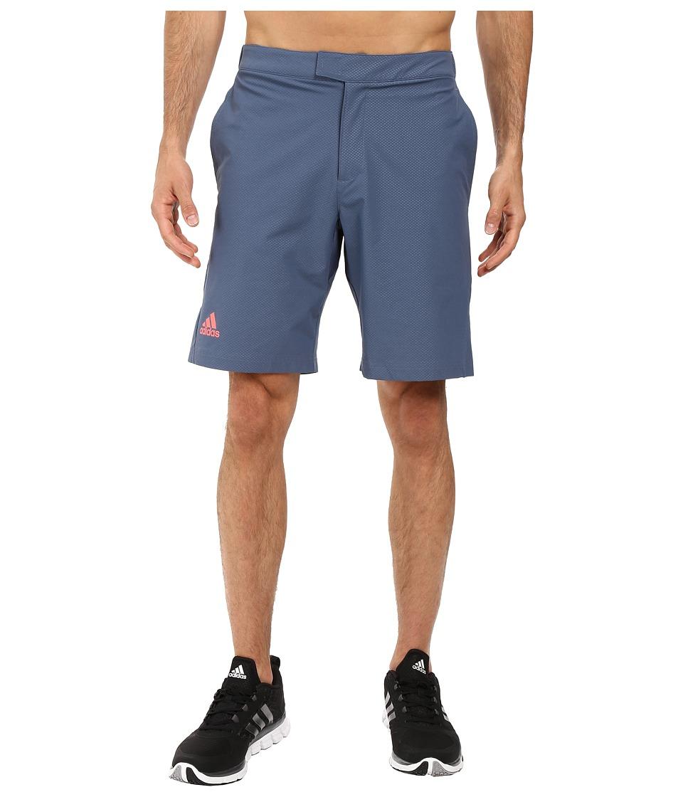adidas - BARRICADE Bermuda (Tech Ink/Flash Red) Men's Shorts