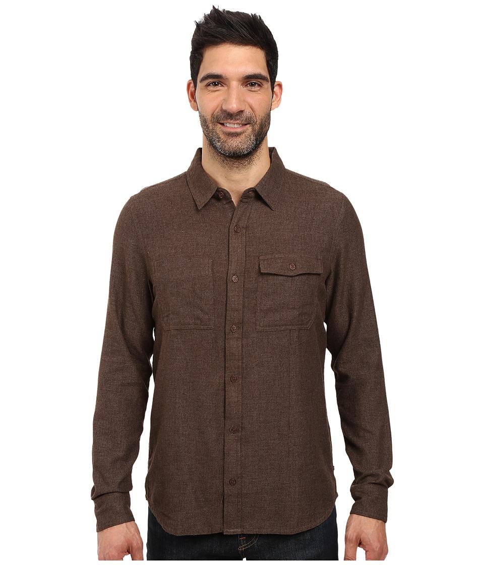 Toad&Co - Alverstone Long Sleeve Shirt (Buffalo) Men's Clothing