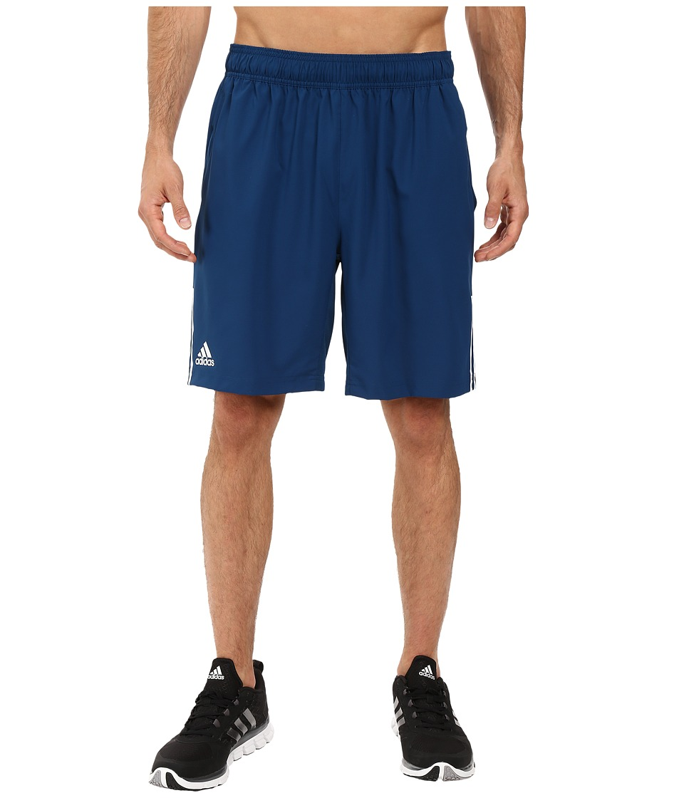 adidas - Club Shorts (Tech Steel/White) Men's Shorts