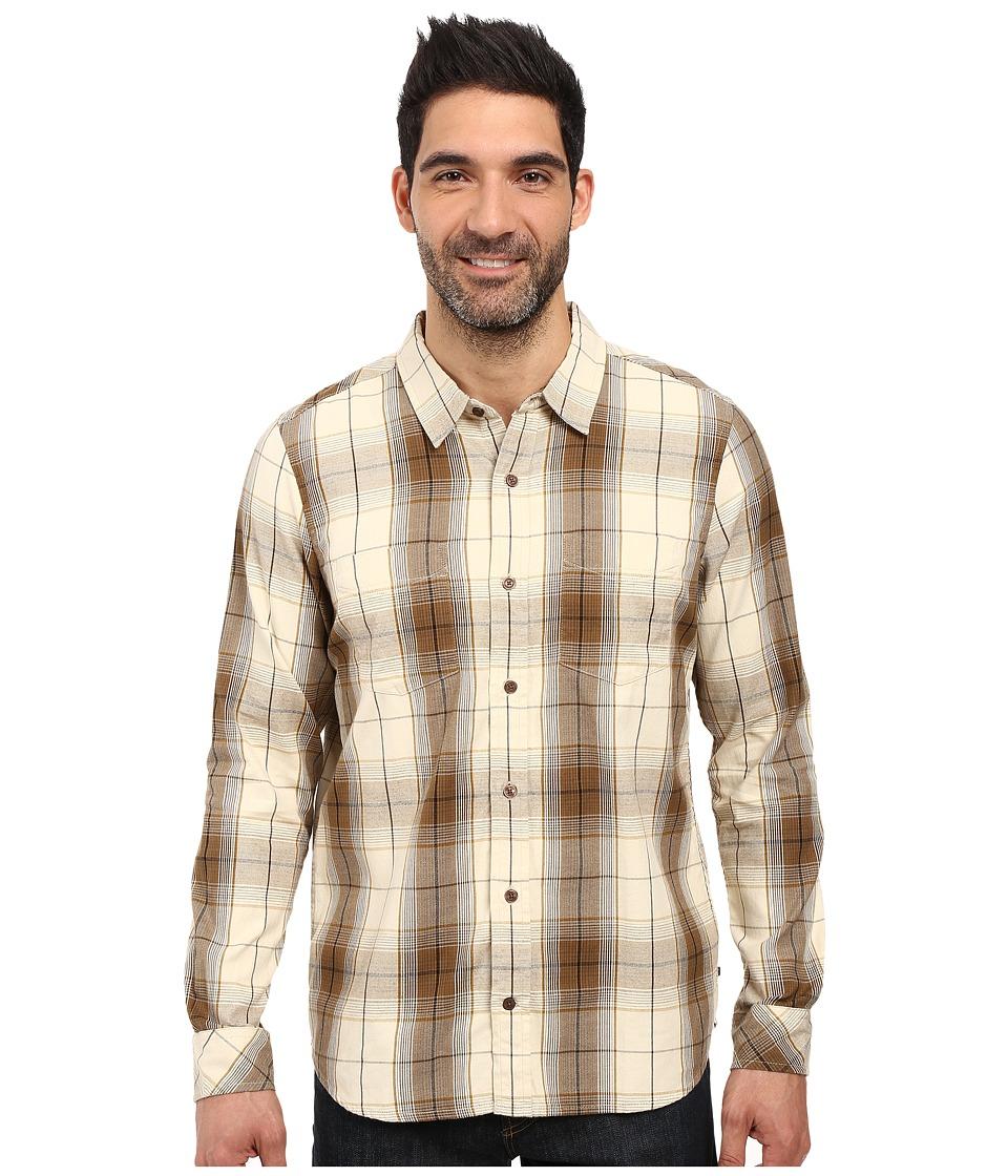 Toad&Co Mojo Long Sleeve Shirt (Polar Bear) Men