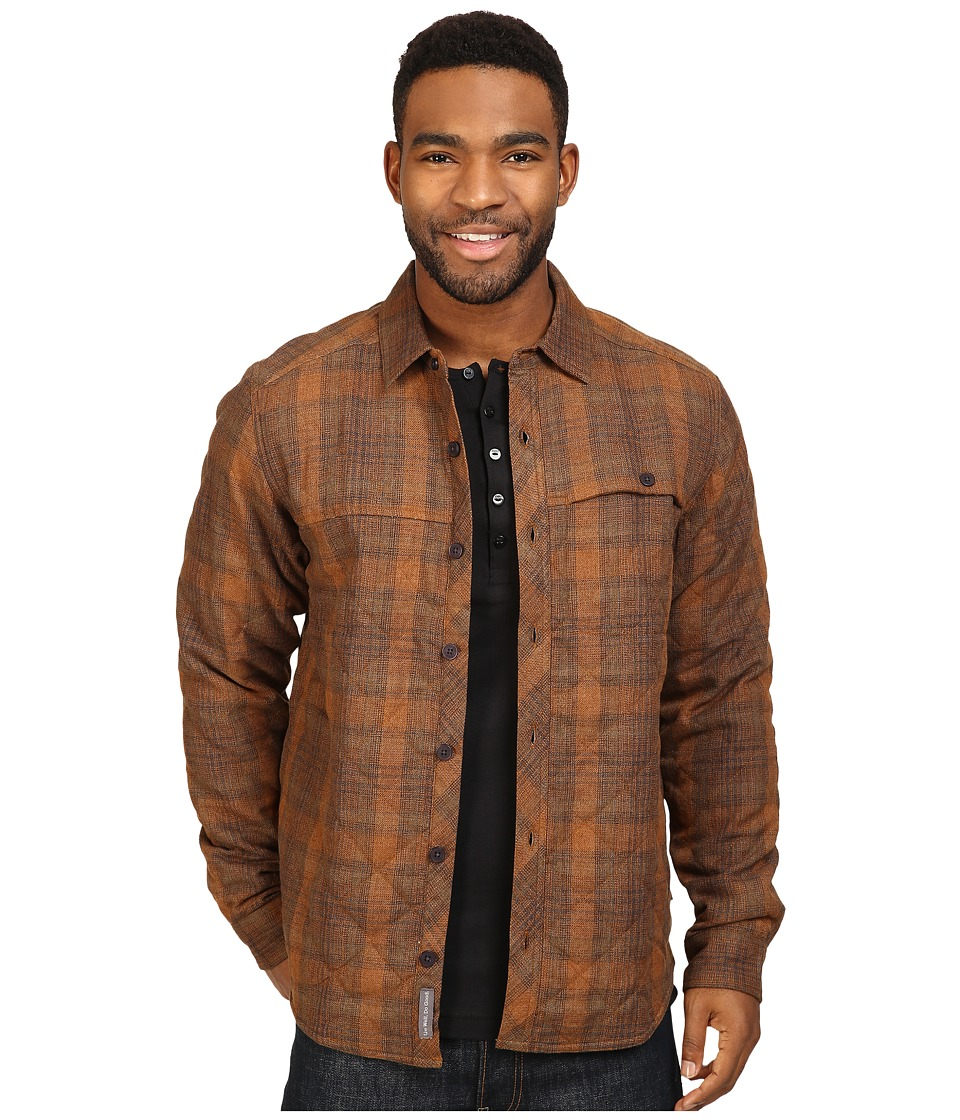 Toad&Co - Kodiak Quilted Overshirt (Acorn) Men's Clothing