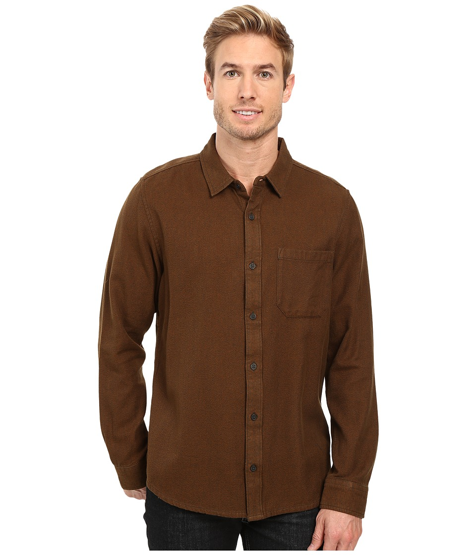 Toad&Co - Earle Long Sleeve Shirt (Acorn) Men's Long Sleeve Button Up