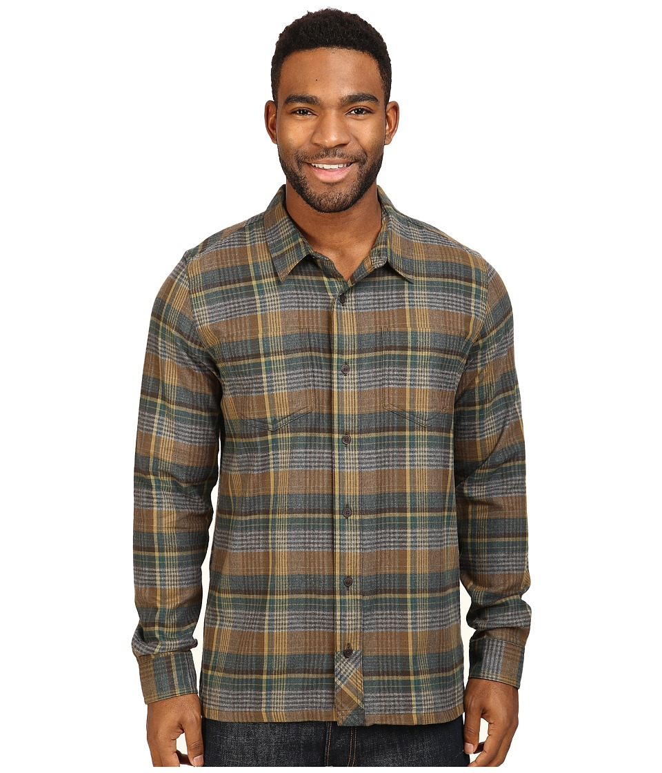Toad&Co - Flannagan Straight Hem Long Sleeve Shirt (Ponderosa) Men's Long Sleeve Button Up