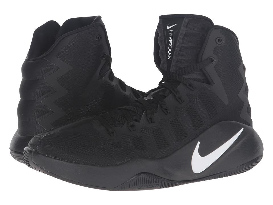 Nike - Hyperdunk 2016 (Black/White) Men's Basketball Shoes