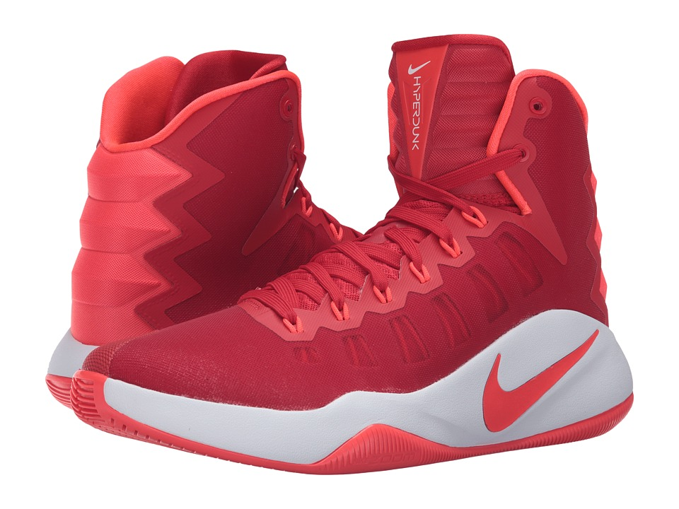 Nike - Hyperdunk 2016 (University Red/White/Bright Crimson) Men's Basketball Shoes