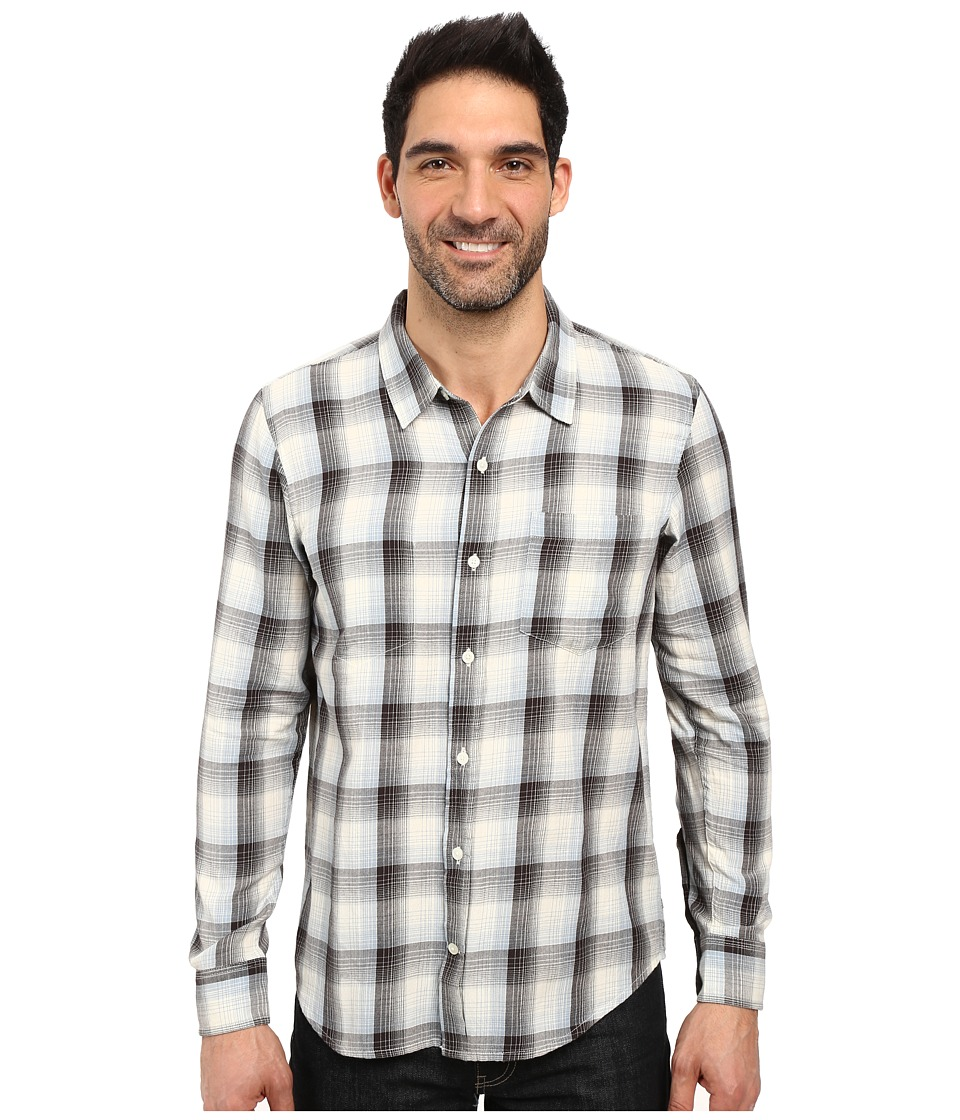 Toad&Co - Mixologist Long Sleeve Shirt (Polar Bear) Men's Long Sleeve Button Up