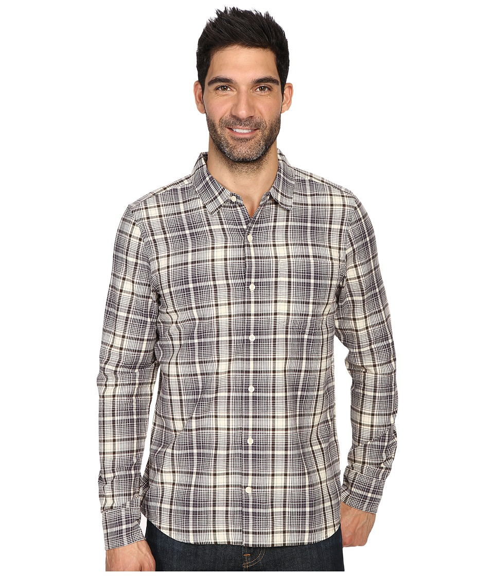 Toad&Co - Paulsen Long Sleeve Shirt (Polar Bear) Men's Clothing