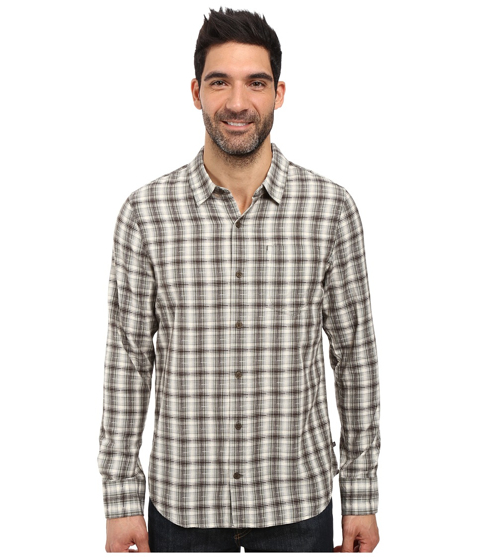 Toad&Co - Open Air Cotton Long Sleeve Shirt (Dark Moss) Men's Long Sleeve Button Up