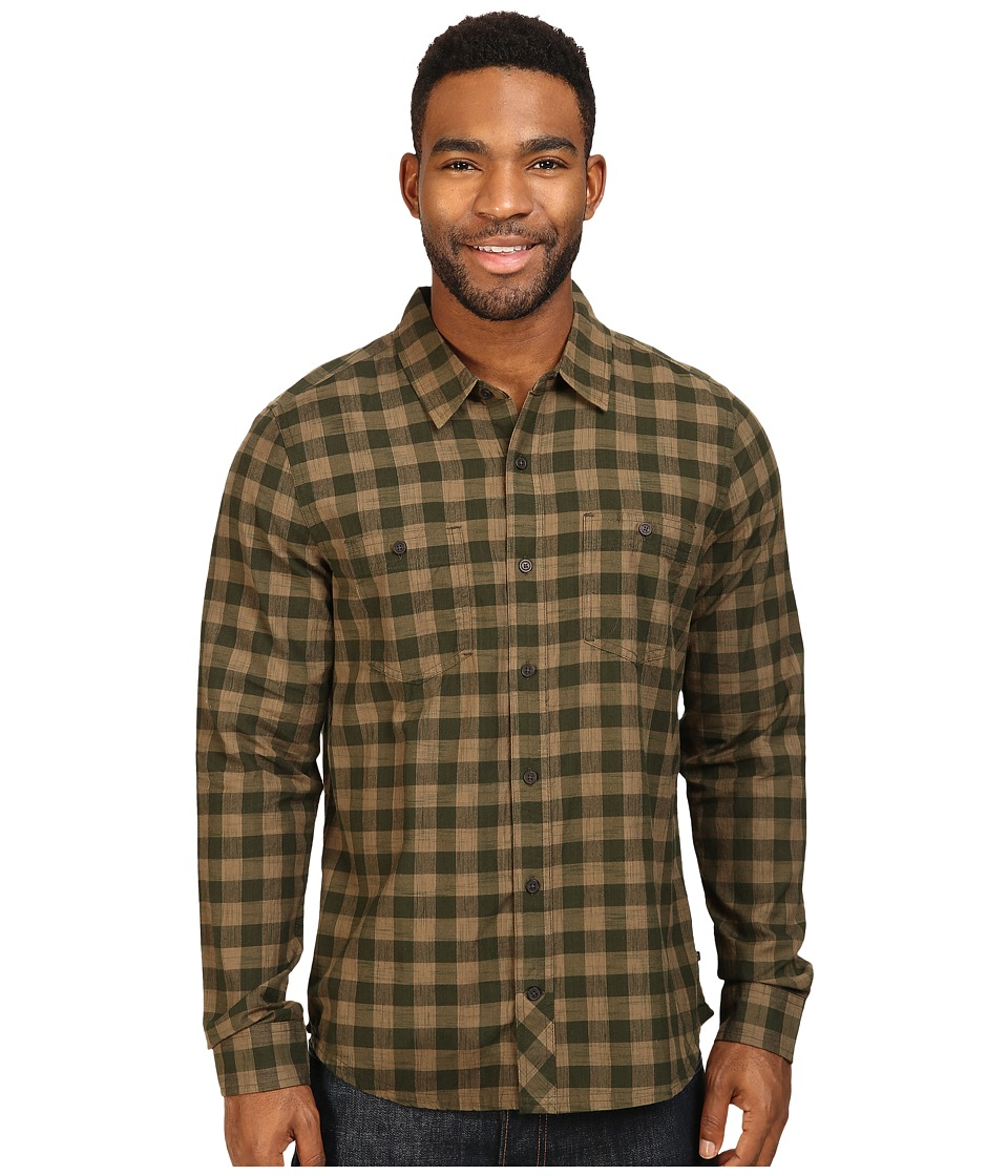 Toad&Co - Smythy Spacedye Long Sleeve Shirt (Rosin) Men's Long Sleeve Button Up