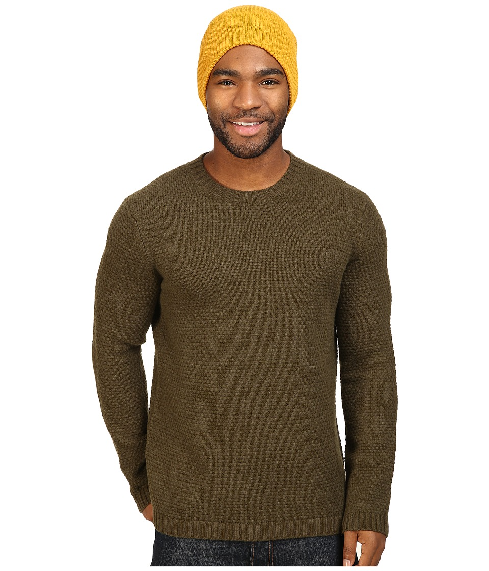 Toad&Co - Malamute Crew Sweater (Dark Moss) Men's Sweater